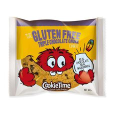 Cookie Time Triple Chocolate Gluten Free Cookie 60g
