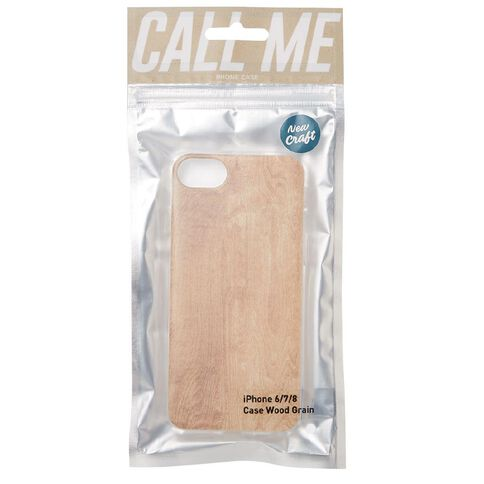 New Craft iPhone 6/7/8 Wood Grain Case