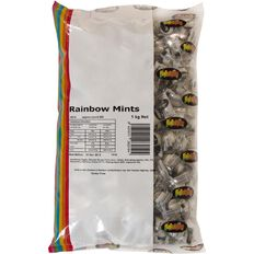 Rainbow Mints Wrapped 1kg
