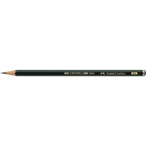 Faber-Castell 9000 Artist Pencil 5H Black