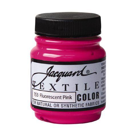 Jacquard Textile Colours 66.54ml Fluorescent Pink