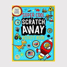 Super Cool Scratch Away Activity Book
