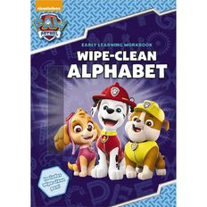 Paw Patrol Wipe-Clean Alphabet