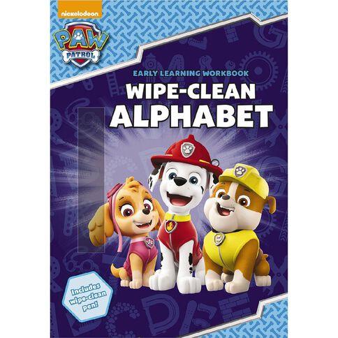 Paw Patrol Wipe-Clean Alphabet
