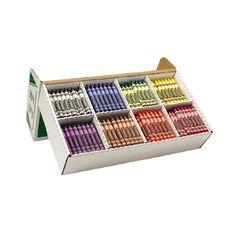 Crayola Large Crayons Classpack 400 Pack