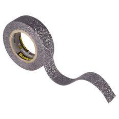 Scotch Craft Glitter Tape 15mm x 5m Grey