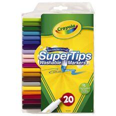 Crayola Super Tip Markers 20 Pack 20 Pack