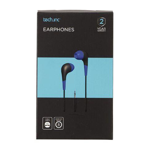 Tech.Inc In-Ear Earbuds Blue