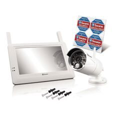 Swann Digital 720P Wireless LCD And Camera Kit White