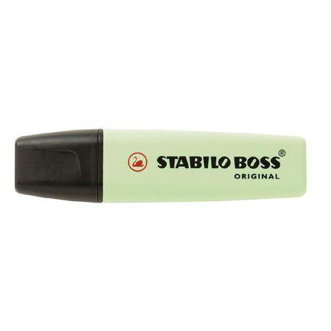 Stabilo Boss Highlighter Pastel Hint Of Mint