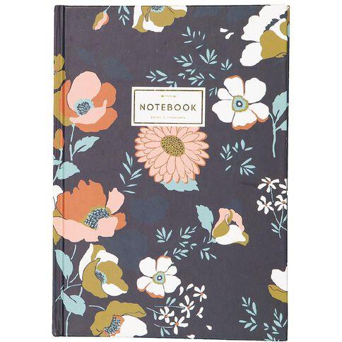 Uniti Winter Bloom Hardcover Notebook A5
