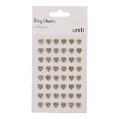 Uniti Bling Crystal Hearts Champagne