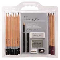 Jasart Sketch & Write Set 18 Pieces