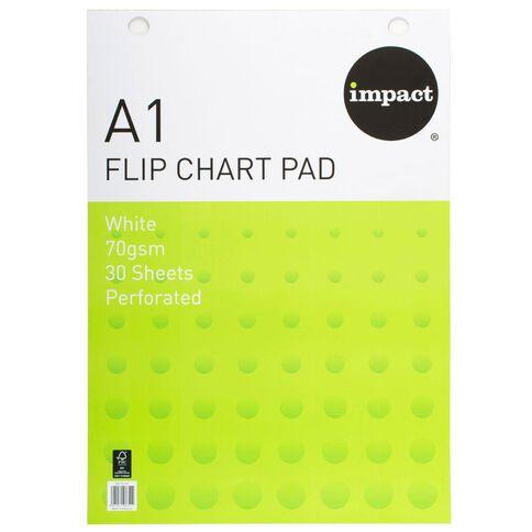 WS Flip Chart Fsc 30 Sheet 70gsm White A1