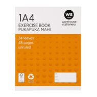 WS Exercise Book 1A4 (Jub) Blank 24 Leaf