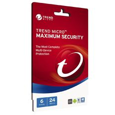Trend Micro Max Security 6 Device 24 Month