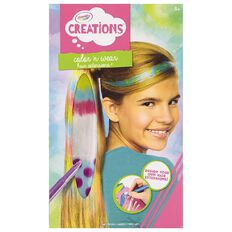 Crayola Creations Colour & Wear Hair Extensions