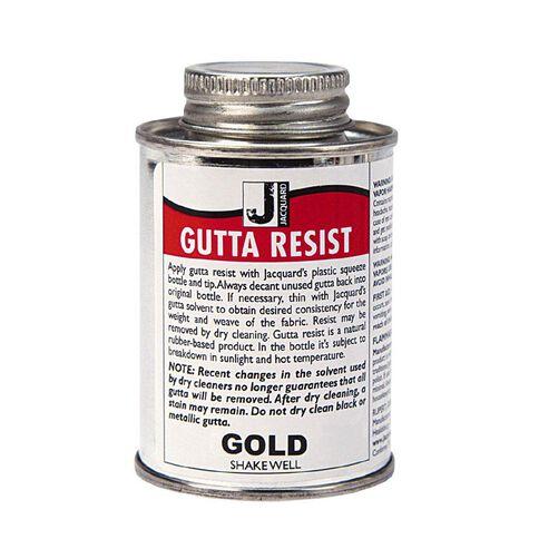 Jacquard Gutta Resist 118.29ml Gold Metallic