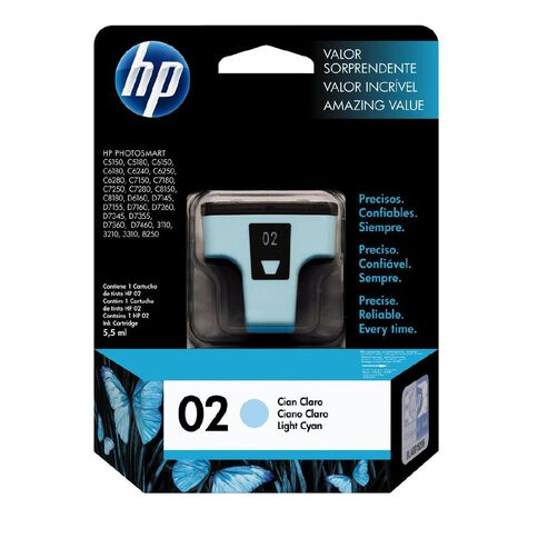 HP Ink 02 Light Cyan (220 Pages)