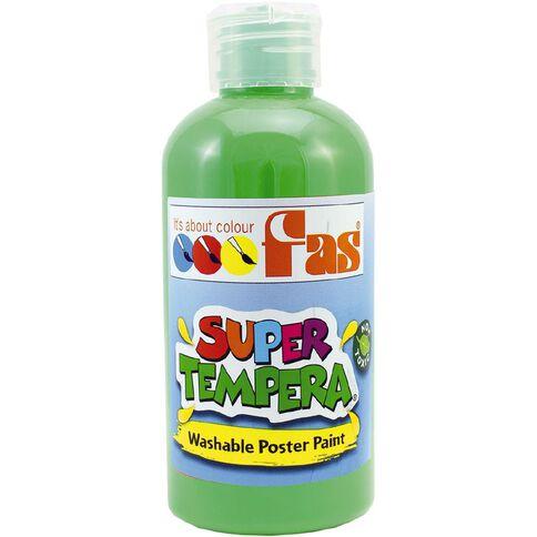 FAS Paint Super Tempera 250ml Leaf Green