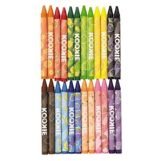 Kookie Scented Crayons 24 Pack