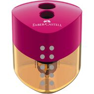 Faber-Castell Pencil Sharpener Grip 2 Hole Triangular Box of 12