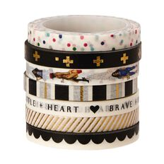 Me & My Big Ideas Washi Tape 6mm x 6m Fabulous 7 Pack