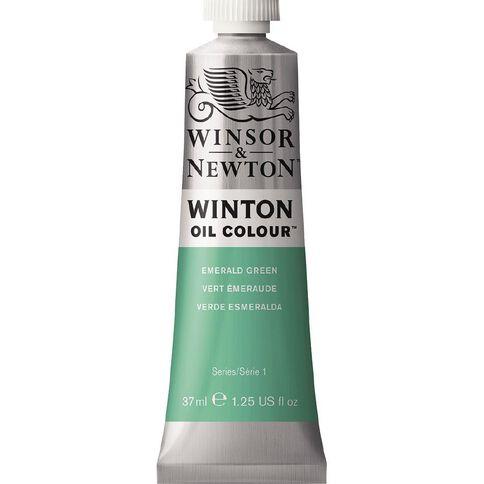 Winsor & Newton Winton Oil Paint 37ml Emerald Green