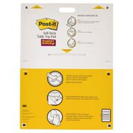 Post-It Tabletop Easel Pad 563R White A1