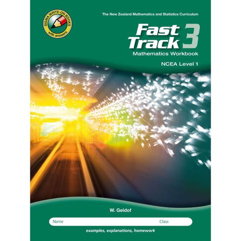 Ncea Year 11 Mathematics Fast Track Workbook 3