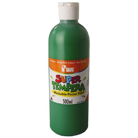 FAS Paint Super Tempera 500ml Green Green 500ml