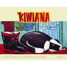 BrownTrout Calendar 2019 Kiwiana Desk Easel