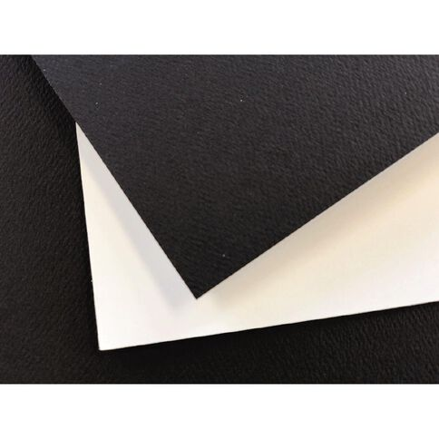Direct Paper Display Board Black Felt/White 1400UM 40cm x 60cm