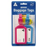 Kevron Baggage Tags With Key Ring Multi-Coloured