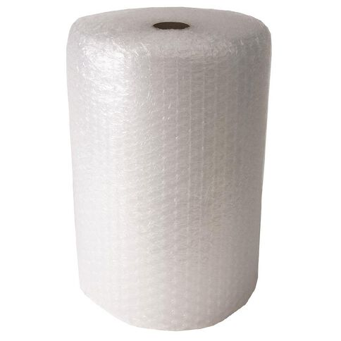 Bubble Wrap Roll 650mm X 650mm x 20m Jumbo Perforated Clear
