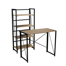 Buy 1 Workspace Folding Desk & 1 Workspace Folding Bookcase for $119