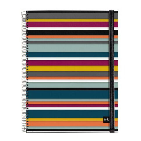 miquelrius notebook  Miquelrius Notebook Oslo with Elastic Band A4 | Warehouse Stationery, NZ
