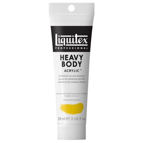 Liquitex Hb Acrylic 59ml Cadmium Medium Yellow