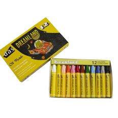 DAS Dreamland Oil Pastels 12 Pack