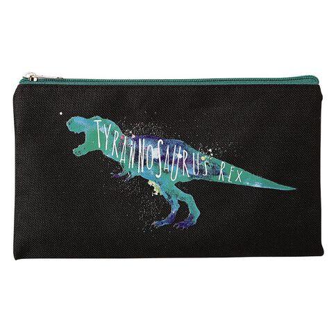 WS Flat Pencil Case Dinosaur