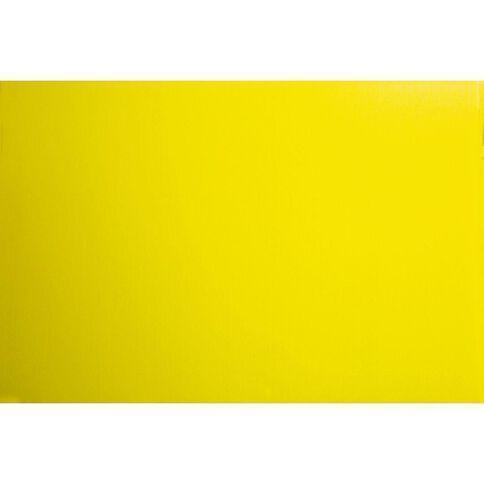 Plasti-Flute Sheet 600mm x 900mm Yellow