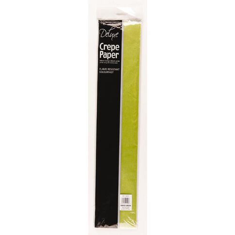 Crepe Paper Lime Green
