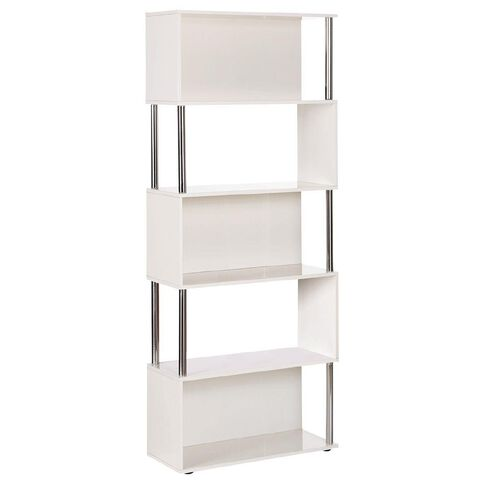 Jasper J Loop Bookcase Gloss White