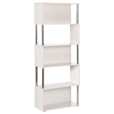 Jasper J Loop Bookcase Gloss White