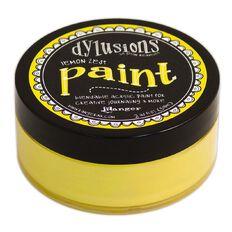 Ranger Dylusions Paint Lemon Zest