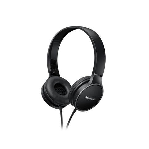 Panasonic Stereo Headphones Rp-Hf300M Black