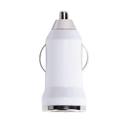 Necessities Brand USB Car Charger 1A White