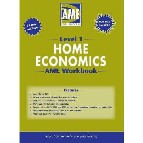 Ncea Year 11 Home Economics Workbook