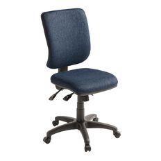 Eden Swatch 3 Lever Highback Ergonomic Chair Navy