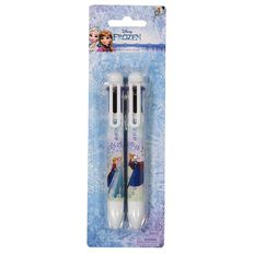 Disney Frozen Novelty Pen 6 Colours 2 Pack